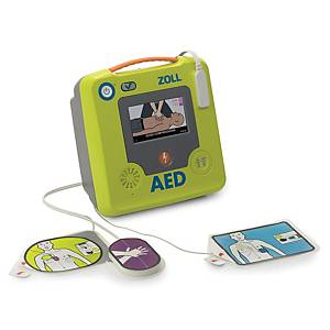 Defibrillatore ZOLL AED 3, Display a colori LCD, manuale francese