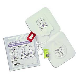 Elettrodo Pedi Padz II p. defibrillatore Zoll AED Plus, Bambini 0-8 anni.
