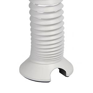 Elev8 vertical expanding cable spiral - white - Delivery only