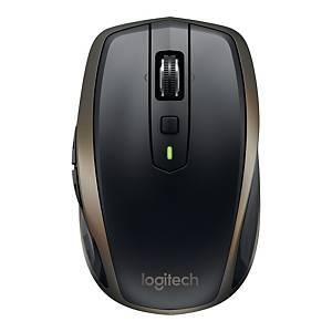 Bezprzewodowa mysz LOGITECH Mx Anywhere 2, czarno-złota