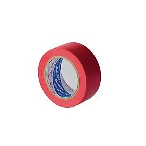 LOUIS FLOOR MASKING TAPE HARD PVC 48 MILLIMETER X 33 METERS RED