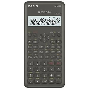 Calculatrice scientifique Casio FX 82MS-2, 2 lignes, 12 caractères
