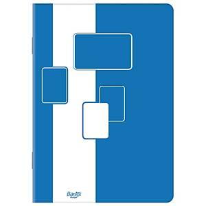 Blok notatnikowy BANTEX BUDGET, klejony, A5, kratka, 100 kartek