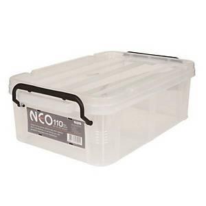 COMAX N11 PLASTIC STORAGE BOX 11L TRANSP