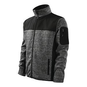 Bluza softshell MALFINI PREMIUM Casual 550, szara, rozmiar 3XL