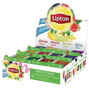 BX180 LIPTON INFUSION TEA BAGS MIX BOX