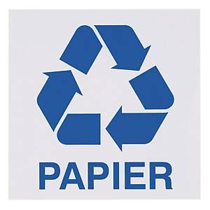 Znak informacyjny  Papier , 150 x 150 (mm)