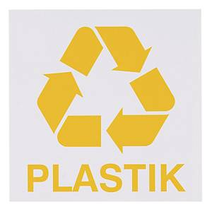 Znak informacyjny  Plastik  150 x 150 (mm)