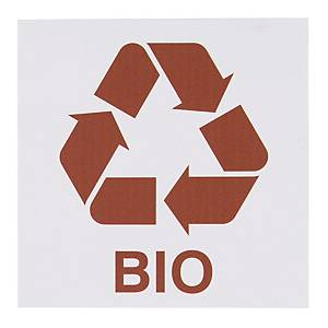 Znak informacyjny  BIO , 150 x 150 (mm)