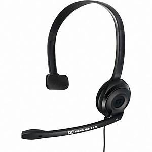 Auricular Sennheiser PC 2 CHAT - monoaural - jack 3.5 mm - 2 m