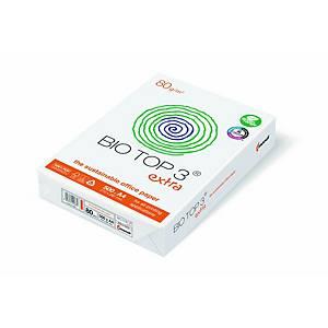 Biotop 3 multifunctioneel wit A4 papier, 80 g, pak van 500 vellen
