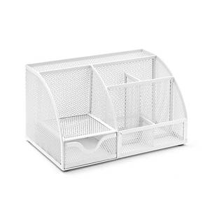 Osco Md01-Wht Desk Org Wire Mesh White