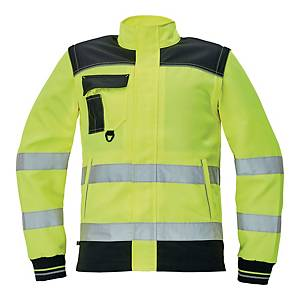 KNOXFIELD BUNDA HI-VIS JACKET 60 YLLW