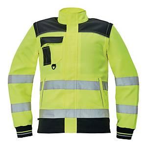 Bluza ostrzegawcza CERVA Knoxfield HI-VIS, żółta, rozmiar 64