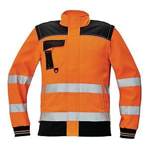 Bluza ostrzegawcza CERVA Knoxfield HI-VIS, pomarańczowa, rozmiar 58