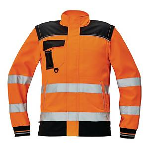 KNOXFIELD BUNDA HI-VIS JACKET 60 ORGE