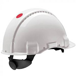 3M G3000 Nuv-Vi safety helmet white