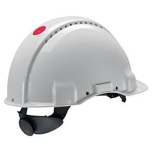 Casque de sécurité 3M G3000, en ABS, plage de réglage 54-62cm, blanc