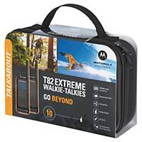 Talkie-walkie Motorola T82 Extreme - portée 10 km - par 2