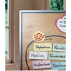 Moderationspapier Legamaster 240100, 116x140cm, braun, 100 Blatt