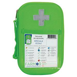 FARMOR FIRST AID KIT W/CASE HV F/SCHOOL