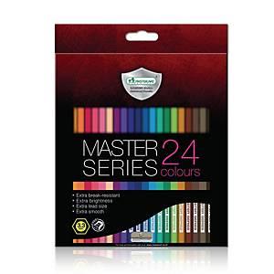 MASTERART ดินสอสีไม้ มาสเตอร์ซีรี่ย์ 24 สี