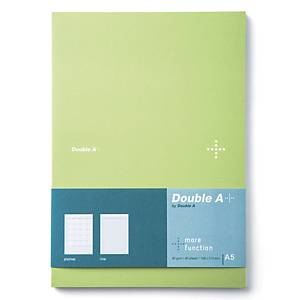 DOUBLE A DA PLUS PLANNER NOTEBOOK A5 80GRAMS 40SHEETS GREEN