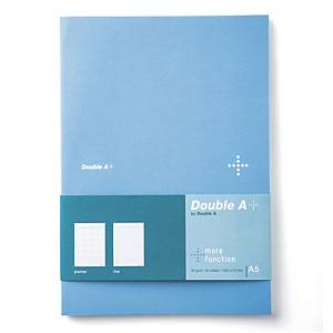 DOUBLE A DA PLUS PLANNER NOTEBOOK A5 80GRAMS 40SHEETS BLUE