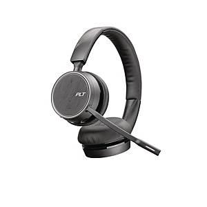 Headset Plantronics Voyager 4220 USB-C stereo trådløst Bluetooth® med hovedbøjle