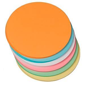 Moderationskarten OTC M308-99, Ø 145mm, Kreise, 130g, 6-farbig sortiert, 250 St.