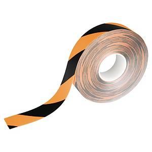 Ruban adhésif de marquage Durable Duraline Strong - 50 mm x 30 m - noir/jaune