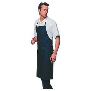 Tablier de cuisine long Hasson - bleu - taille unique