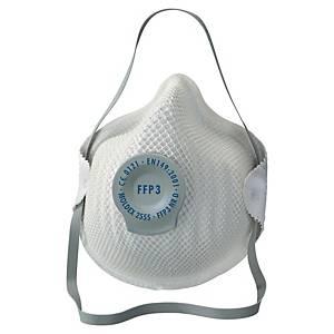 Masque coqué jetable Moldex 2555 FFP3 - avec soupape - par 5