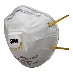 Respiratore a conchiglia 3M 8822 classic FFP2 con valvola - conf. 10