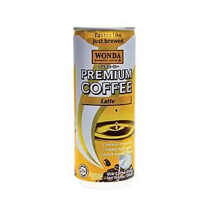 Wonda Latte Cans 240ml - Pack of 24