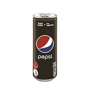 Pepsi Black Can 320ml - Pack of 24