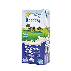Goodday Full Cream UHT Milk 1l - Pack of 12