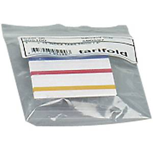 PACK 10 TARIFOLD CLIP-ON INDEX TABS
