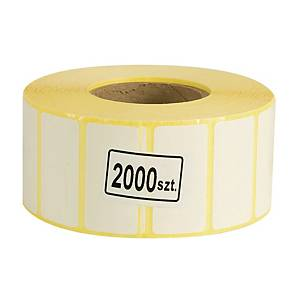ROLL2000 THERMAL TRANSFER LABELS 40X20MM