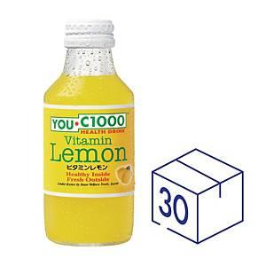 YOU C1000 維他命檸檬健康飲品140毫升 - 30支裝