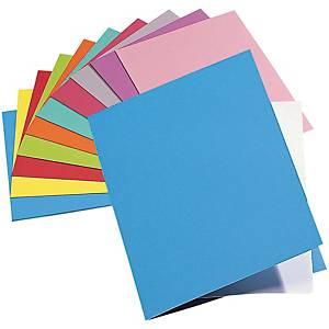 Chemise Lyreco Premium - coloris assortis - paquet de 100
