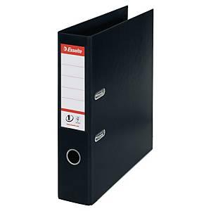 Ordner Esselte 81137, PP-kaschiert, A4, Rückenbreite: 75mm, schwarz