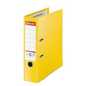 Pákový pořadač Esselte No. 1 Power Vivida, šířka hřbetu 7,5 cm, žlutý