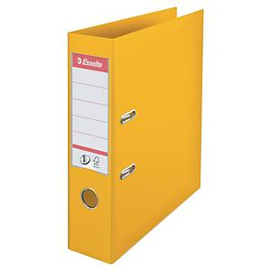 Esselte No.1 Power Yellow A4 Lever Arch File