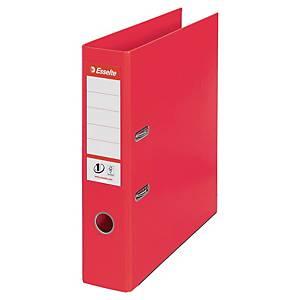 Pákový pořadač Esselte No. 1 Power Vivida, šířka hřbetu 7,5 cm, červený