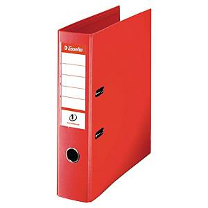 Esselte No.1 Power Lever Arch File A4 Red