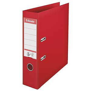 ESSELTE L/ARCH PP 75MM RED 81133