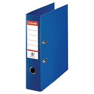 Esselte lever arch file PP spine 75 mm blue