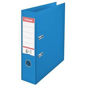 Pákový pořadač Esselte No. 1 Power Vivida, šířka hřbetu 7,5 cm, modrý