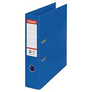 Classeurs à levier Esselte n°1 Power, A4, PP, dos 75 mm, bleus, le classeur